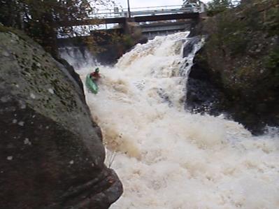First descent 2014-10-15, Håkan Andersson.