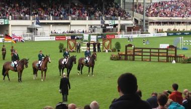 Dublin Hors Show, Irländska laget hyllas