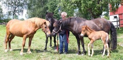 Fyra generationer, foto Emma Jansson.