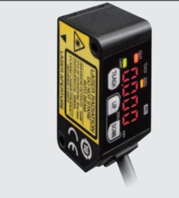 Panasonic lasergivare för Löphjul - HG-C1100  NPN  0-10V  Mätområde 70mm