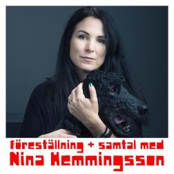 Lördag 10 november efterföljs föreställningen av samtal med Nina Hemmingsson (klicka på bilden för att boka)      Foto:Gabriel Liljevall