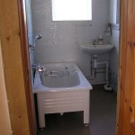 Tegelvillan  badrum
