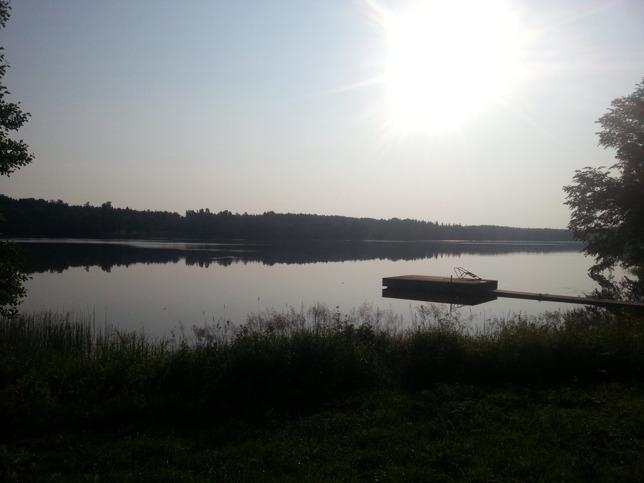 Sommarmorgon i Fjällskäfte