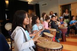 Fyra fantastiskt kreativa dagar av Unga Re:Orients Sommarläger i Bredäng. 35 barn och ungdomar deltog med glädje och lust.