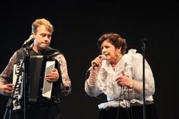 Hilja Grönfors från Finland gästade Roma Festival. Klicka på bilden för att läsa mer.