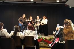 Debatt ledd av Mikael Olsson med demokratiminster Birgitta Ohlsson, Thomas Hammarberg och Miranda Voulusranta. Klicka på bilden för att se fler bilder från Roma festivalen.