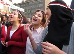 Tillsammans med Silc anordnade vi öppna samtal om kvinnors roll och situation i Egyptens revolt. Klicka på bilden för mer info.