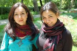 Mahsa och Marjan Vadhat (Iran)