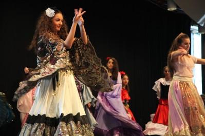 Unga stjärnor är en dansgrupp för romska barn och ungdomar