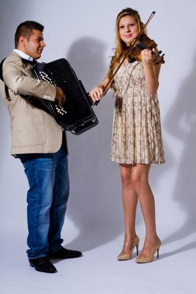 Lelo Jr och Manuela Nika