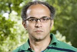 """Magdi Abdelhadi talade under rubriken """"Att rapportera Mellanönstern"""" med Cecilia Uddén och Michael Winiarski"""