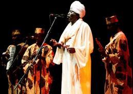 Abdel Ghadir Salim kom med projektet Ceasefire från Sudan till festivalen.