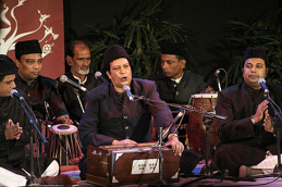 Sabri Brothers (Pak.) var med i programmet A Sufi Weekend