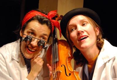 Sofia Berg Böhm och Anna Möller. Foto: Johanna Huss