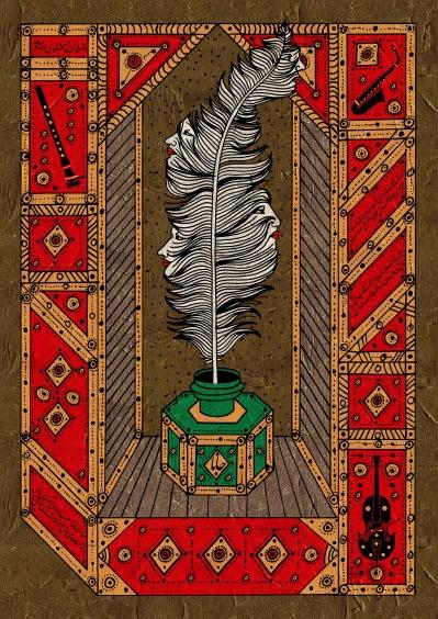 Illustration av Babak Safari