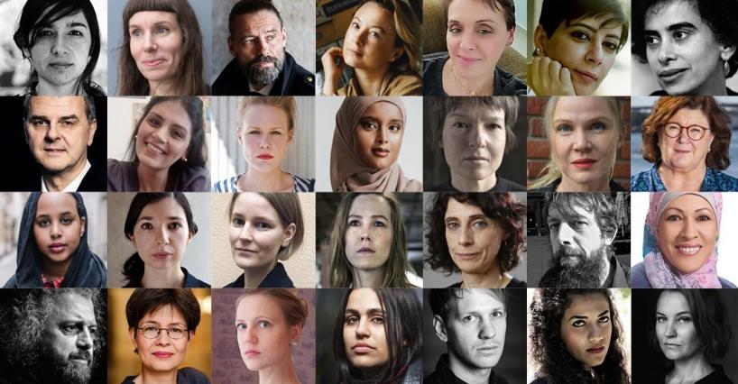 Välkommen till Uppsala Internationella Litteraturfestival 12 - 13 mars 2021