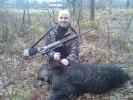 Peter jagar vildsvin