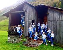 Ski Team Sweden. Fotograf Nicklas Blom