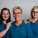 Erica Månsson, Eva Svensson & Cassandra Stanleysson- Biljettförsäljning & foajépersonal