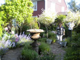 Trädgårdsutsmyckning