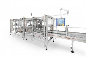 En av Meypack's maskiner hos Arlafoods