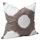 Noomi c-c 50x50 cotton taupe-white