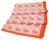 Paisley linen table cloth orange