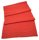 Line linen table cloth coral
