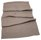 Line linen table cloth taupe
