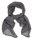 Garland shawl charcoal