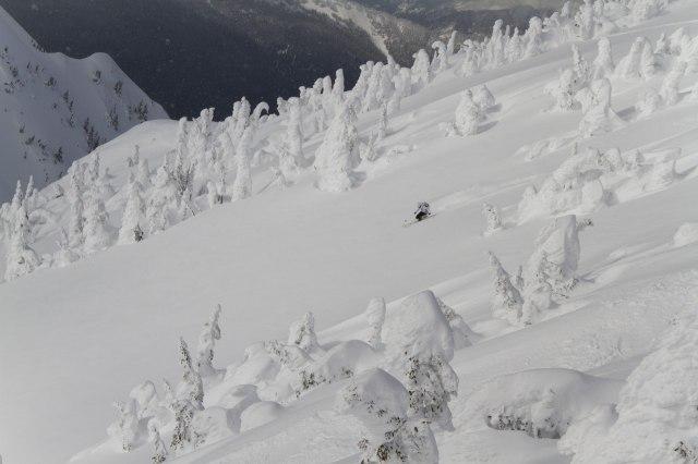 Vi har en del snö. Enligt snörapporten ska det ha kommit närmare 10 meter hittills under säsongen!