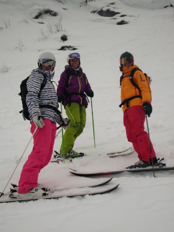 Lotten, Johanna och Rebecka en trio helt vanliga tjejer