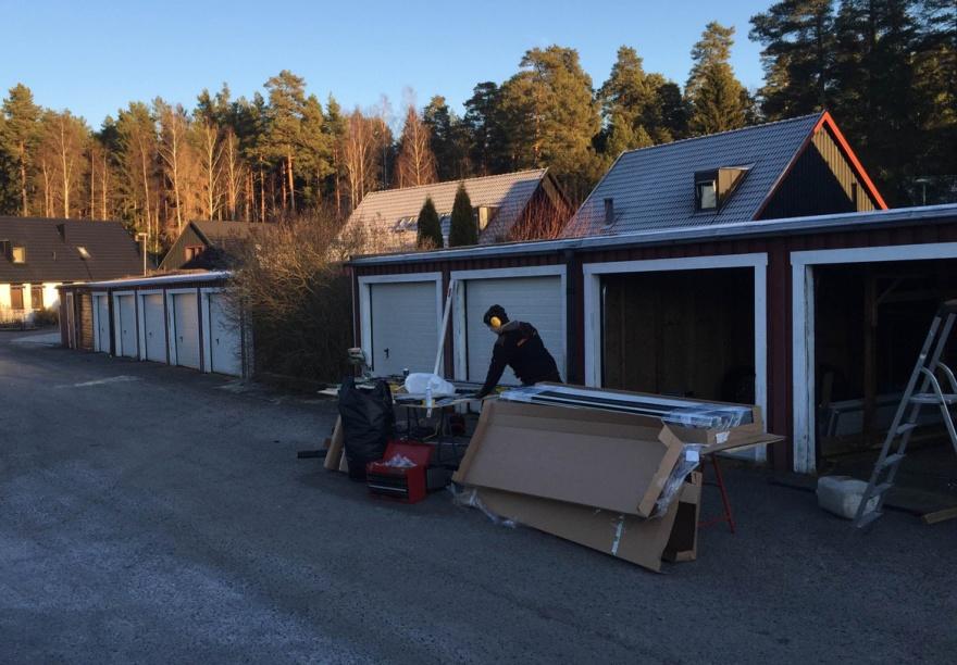 23 takskjutportar tillgarage i Köping - Portfirman.se