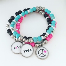 PEACE - LOVE - YOGA i färg