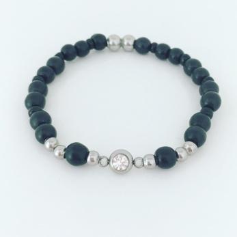 Strass - svarta pärlor