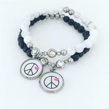 PEACE och strass