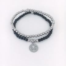 Armband med en fransk lilja och RFS