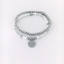 Armband med en lotusblomma och RFS