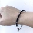 Stelt armband med kedja