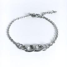 Kedja i kedja - armband