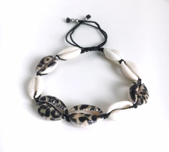 Snäckarmband - Leo/zebra - Zebra