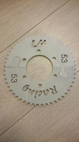 Bakdrev aluminium  520