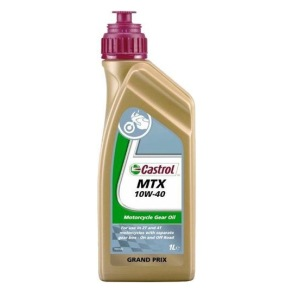 Castrol MTX Mineral (ej för slutväxlar) - Castrol MTX 10W-40(80W)