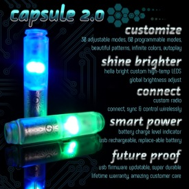 Capsule 2.0 - LED light for flowtoys equipment