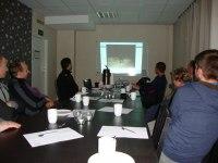 Genomgång och föreläsning i samband med Vasaloppsläger