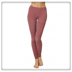 Leggings prickig ekobomull/bambu