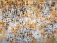 """Scrape beige"", 90x120 cm oil on canvas 2013 Anders Kumlien"