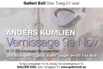 Anders Kumlien på Galleri Exil den 9e november