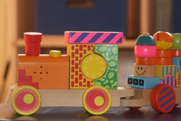 Ett tåg av klossar - Förskolans pedagogik