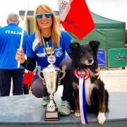 Valp/unghundskurs för Valentina Balli